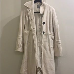 Old Navy Creme Trench Coat
